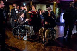 Crash spins wedding at Calamigos Ranch Malibu