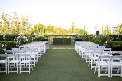 Crash spins wedding at London Hotel West Hollywood