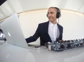 DJ Crash at OUE Skyspace Grand Opening