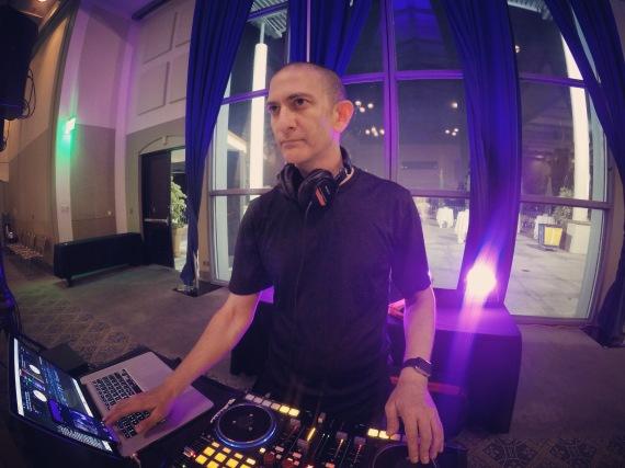 DJ Crash at UCLA August 2016