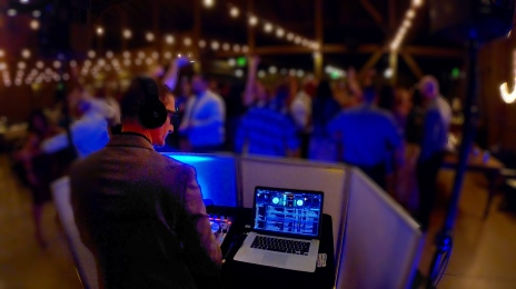 DJ Crash spins Camarillo Ranch wedding May 2019